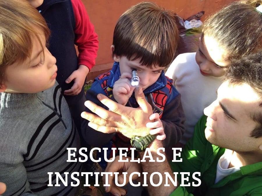 Escuelas e instituciones